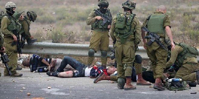 إصابة عشرات الفلسطينيين خلال اقتحام مستوطنين إسرائيليين بلدة عزون