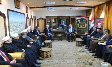 وزير الأوقاف لـ خرازي: سورية وإيران ومحور المقاومة يقفون في مواجهة الفكر الإرهابي