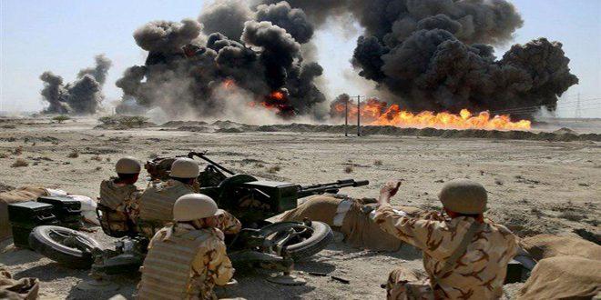 انطلاق المناورات المشتركة الخامسة للجيش الإيراني