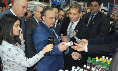 الاحتفال باليوبيل الذهبي لمهرجان التسوق العائلي..  خميس: الصناعة السورية دخلت مرحلة الإنتاج الفعلي