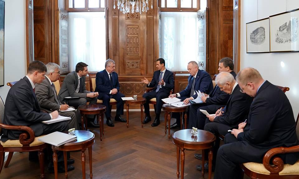 الرئيس الأسد: انتصارات الجيش بالتعاون مع روسيا والحلفاء أفشلت مخططات الهيمنة والتقسيم
