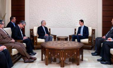 أكّد لخرازي أنّ العدوان التركي لا ينفصل عن سياسات النظام التركي في دعم الإرهاب الرئيس الأسد: الانتصار على الإرهاب في سورية والعراق وصمود إيران في الملف النووي أفشل مخطّط تفتيت دول المنطقة