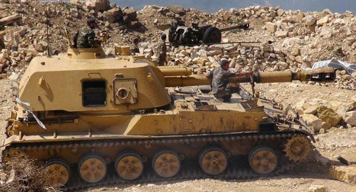 الجيش يسيطر على 13 قرية بريف إدلب والرهجان والشاكوسية وأم صهريج بريف حماة