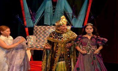 مسرحية حسن وحسنة على خشبة المسرح القومي ضمن مهرجان مسرح الطفل باللاذقية